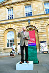 Professor David Blockley, engineer and academic scientist outside Woodstock Town Hall during the Woodstock Literary Festival, Oxfordshire. 17 September 2011...PHOTO COPYRIGHT GRAHAM HARRISON .graham@grahamharrison.com.+44 (0) 7974 357 117.Moral rights asserted.
