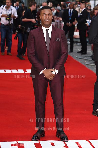 John Boyega at the premiere of &quot;Detroit&quot; at the Curzon Mayfair, London, UK. <br /> 16 August  2017<br /> Picture: Steve Vas/Featureflash/SilverHub 0208 004 5359 sales@silverhubmedia.com
