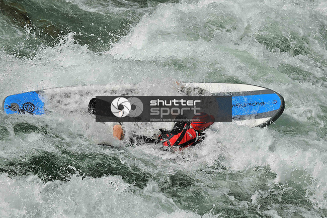 BullerFest Kayak Slalom and Rafter X. Buller River, Murchison, New Zealand, Saturday 28 February 2015. Photos: Barry Whitnall/www.shuttersport.co.nz