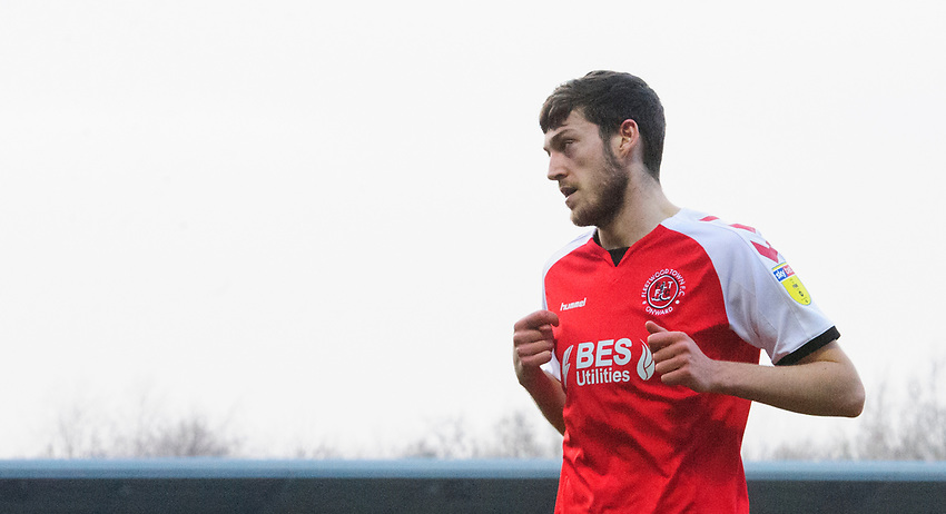 Fleetwood Town's Ashley Nadesan<br /> <br /> Photographer Chris Vaughan/CameraSport<br /> <br /> The EFL Sky Bet League One - Saturday 23rd February 2019 - Burton Albion v Fleetwood Town - Pirelli Stadium - Burton upon Trent<br /> <br /> World Copyright © 2019 CameraSport. All rights reserved. 43 Linden Ave. Countesthorpe. Leicester. England. LE8 5PG - Tel: +44 (0) 116 277 4147 - admin@camerasport.com - www.camerasport.com
