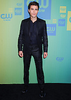 NEW YORK CITY, NY, USA - MAY 15: Paul Wesley at The CW Network's 2014 Upfront held at The London Hotel on May 15, 2014 in New York City, New York, United States. (Photo by Celebrity Monitor)
