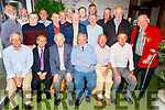 The Summer of 69 CBS graduating class enjoying the 50th reunion in Benners Hotel on Saturday.<br /> Seated l to r: Tom Kennington, Francie McSweeney, Darren Commane, Pat Moore, Joe McKenna, Jimmy Moriarty, Maurice Wrenn, Denis Horgan, James Horan, Tom Maunsell, Padraig Daly, Kieran Moriarty, Fergus Dillon, Michael Crean, Brian Dowling, Tom Costello, Eddie McCarthy, Peter Fealy, Paddy O'Connell and Jim Kennedy.