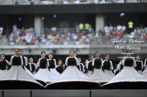 dancers. Opening Ceremony. Olympic Stadium. Baku. Azerbaijan. Baku2015. 1st European Games. 12/06/2015. MANDATORY CREDIT Garry Bowden/SIPPA - NO UNAUTHORISED USE - +447837 394578