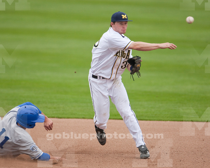 The University of Michigan baseball team lost to IPFW, 8-6 (11 innings), in their home opener at the Wilpon Baseball Complex in Ann Arbor, Mich., on March 23, 2012.