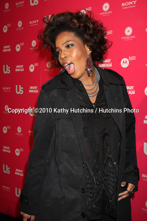 Macy Gray.arrives at the US Weekly Hot Hollywood Party 2010.Drai's at the W Hotel Hollywood.Los Angeles, CA.April 22, 2010.©2010 Kathy Hutchins / Hutchins Photo...