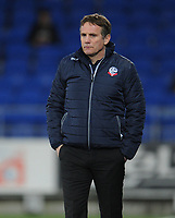 Bolton Wanderers manager Phil Parkinson <br /> <br /> Photographer Kevin Barnes/CameraSport<br /> <br /> The EFL Sky Bet Championship - Cardiff City v Bolton Wanderers - Tuesday 13th February 2018 - Cardiff City Stadium - Cardiff<br /> <br /> World Copyright &copy; 2018 CameraSport. All rights reserved. 43 Linden Ave. Countesthorpe. Leicester. England. LE8 5PG - Tel: +44 (0) 116 277 4147 - admin@camerasport.com - www.camerasport.com