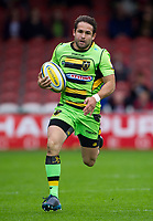 Northampton Saints' Jacobus Reinach in action <br /> <br /> Photographer Ashley Western/CameraSport<br /> <br /> Aviva Premiership - Gloucester v Northampton Saints - Saturday 7th October 2017 - Kingsholm Stadium - Gloucester<br /> <br /> World Copyright &copy; 2017 CameraSport. All rights reserved. 43 Linden Ave. Countesthorpe. Leicester. England. LE8 5PG - Tel: +44 (0) 116 277 4147 - admin@camerasport.com - www.camerasport.com