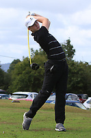Jack Davin (Tuam) on the 14th tee during the Final round in the Connacht U16 Boys Open 2018 at the Gort Golf Club, Gort, Galway, Ireland on Wednesday 8th August 2018.<br /> Picture: Thos Caffrey / Golffile