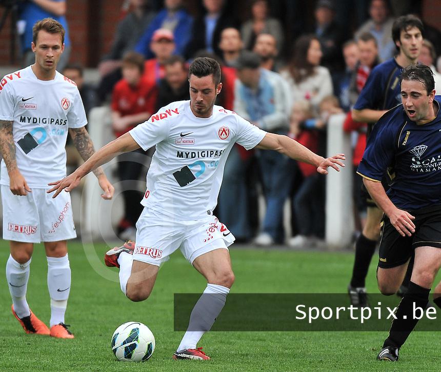 KV Kortrijk - SV Kortrijk : Baptiste Ulens<br /> foto VDB / Bart Vandenbroucke