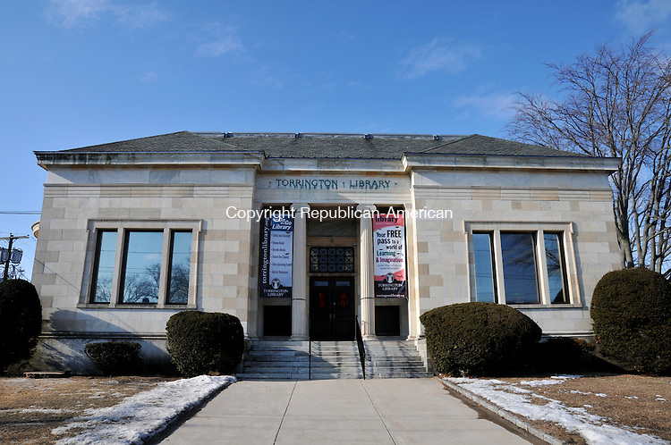TORRINGTON, CT, 22 JAN 15 - The Torrington Library, which long ago outgrew its current building, is planning an expansion project.  Alec Johnson/ Republican-American