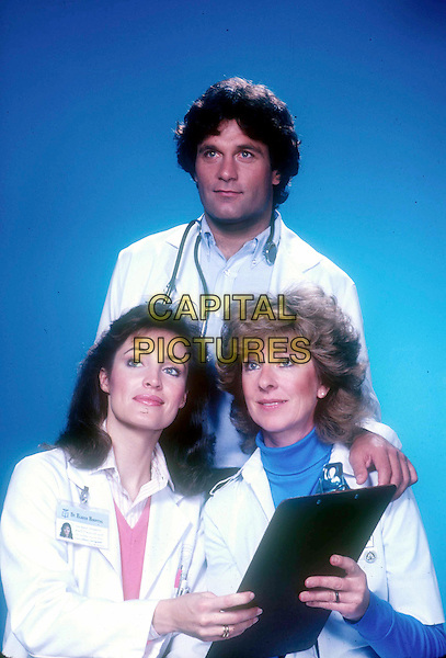 CYNTHIA SIKES, TERENCE KNOX & CHRISTINA PICKLES.in St Elsewhere.Filmstill - Editorial Use Only.Ref: FB.www.capitalpictures.com.sales@capitalpictures.com.©Capital Pictures
