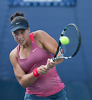 Ana Konjuh<br /> Tennis - US Open  - Grand Slam -  Flushing Meadows  2013 -  New York - USA - United States of America - Sunday 8th  September 2013. <br /> &copy; AMN Images, 8 Cedar Court, Somerset Road, London, SW19 5HU<br /> Tel - +44 7843383012<br /> mfrey@advantagemedianet.com<br /> www.amnimages.photoshelter.com<br /> www.advantagemedianet.com<br /> www.tennishead.net