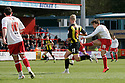 Luke Freeman of Stevenage scores their second. - Stevenage v Brentford - npower League 1 - Lamex Stadium, Stevenage - 21st April, 2012. © Kevin Coleman 2012