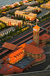 Aerial view of Union Station in Portland, Oregon.