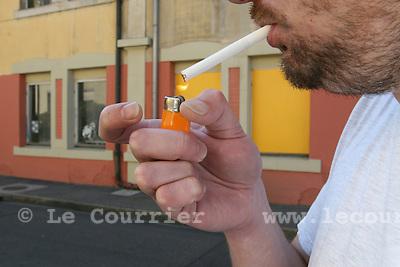 Genève, le 19.09.2007.fumée, .© J.-P. Di Silvestro..