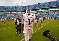The Carolina Panthers vs. Jacksonville Jaguars at Bank of America Stadium in Charlotte, North Carolina...Photos by: Patrick Schneider Photo.com