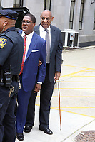 NORRISTOWN, PA - JUNE 16 :  Bill Cosby arrives to the Montgomery County Courthouse on the tenth day of his sexual assault trial and the fourth full day of jury deliberation on June 16, 2017 in Norristown, Pennsylvania.  photo credit  Star Shooter/MediaPunch