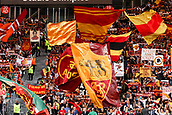 12th September 2017, Stadio Olimpic, Rome, Italy; UEFA Champions League between AS Roma versus Club Atletico de Madrid  Fans of Roma  ; the game ended on a 0-0 draw