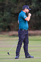 Andy Sulivan (ENG) on the 2nd fairway during Round 3 of the Sky Sports British Masters at Walton Heath Golf Club in Tadworth, Surrey, England on Saturday 13th Oct 2018.<br /> Picture:  Thos Caffrey | Golffile