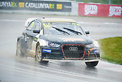 14th April 2018, Circuit de Barcelona-Catalunya, Barcelona, Spain; FIA World Rallycross Championship; Attila Mozer of the Nyirad Motorsport Kft in action during the very wet Q2