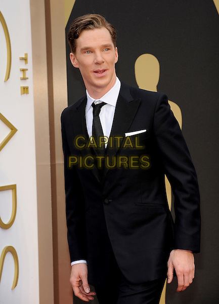 HOLLYWOOD, CA - MARCH 2: Benedict Cumberbatch arriving to the 2014 Oscars at the Hollywood and Highland Center in Hollywood, California. March 2, 2014. <br /> CAP/MPI/COR<br /> &copy;Corredor99/ MediaPunch/Capital Pictures