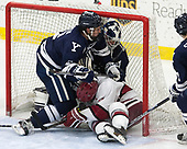 - The Harvard University Crimson tied the visiting Yale University Bulldogs 1-1 on Saturday, January 21, 2017, at the Bright-Landry Hockey Center in Boston, Massachusetts.