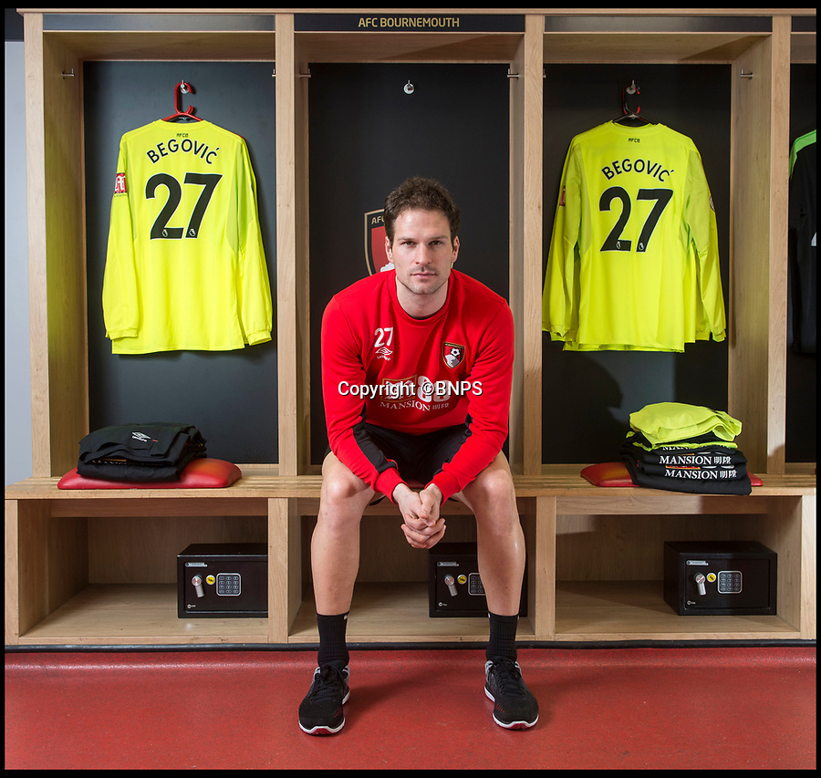 BNPS.co.uk (01202 558833)<br /> Pic: PhilYeomans/BNPS<br /> <br /> AFC Bournemouth keeper Asmir Begovic interview with Jonathan Northcroft.