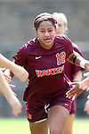 29 September 2013: Virginia Tech's Candace Cephers. The Duke University Blue Devils hosted the Virginia Tech University Hokies at Koskinen Stadium in Durham, NC in a 2013 NCAA Division I Women's Soccer match. The game ended in a 1-1 tie after two overtimes.