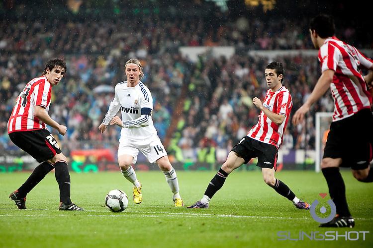 Real Madrid vs Athletic Bilbao, Bernebau Stadium, Madrid Spain May 2010, Renaldo