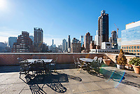 Roof Deck at 333 East 66th Street