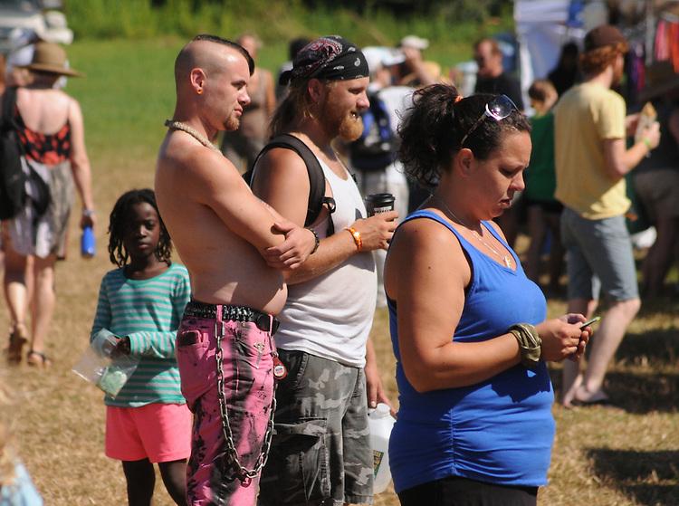 Midway scene at the Falcon Ridge Folk Festival, held on Dodd's Farm in Hillsdale, NY on Sunday, August 2, 2015. Photo by Jim Peppler. Copyright Jim Peppler 2015.