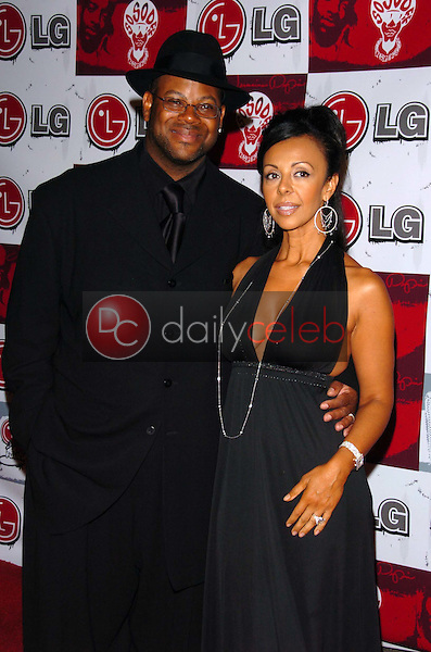 Jimmy Jam and wife Lisa<br />