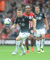 Burnley's Johann Gudmundsson<br /> <br /> Photographer Kevin Barnes/CameraSport<br /> <br /> The Premier League - Southampton v Burnley - Sunday August 12th 2018 - St Mary's Stadium - Southampton<br /> <br /> World Copyright &copy; 2018 CameraSport. All rights reserved. 43 Linden Ave. Countesthorpe. Leicester. England. LE8 5PG - Tel: +44 (0) 116 277 4147 - admin@camerasport.com - www.camerasport.com