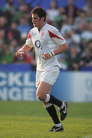 England's Matthew Cox in action during the Division A U19 World Championship match at Ravenhill, Belfast.