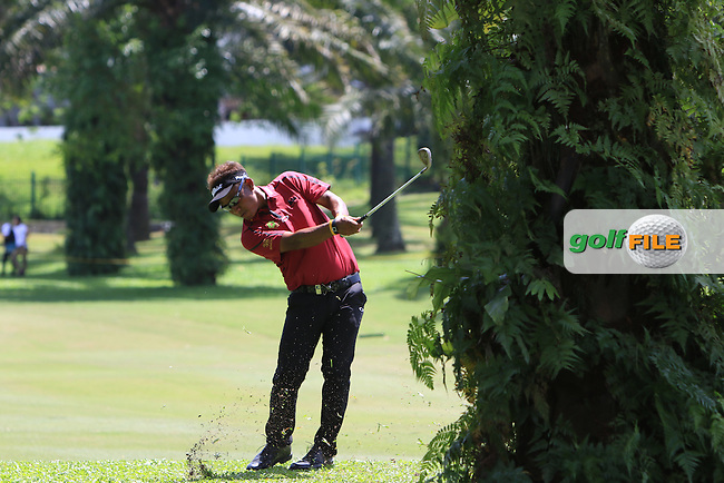 Thongchai Jaidee (THA) during Round 4 of the Maybank Championship on Sunday 12th February 2017.<br /> Picture:  Thos Caffrey / Golffile<br /> <br /> All photo usage must carry mandatory copyright credit     (&copy; Golffile | Thos Caffrey)