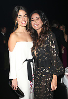 SANTA MONICA, CA - JANUARY 6: Nikki Reed and Emmanuelle Chriqui inside at Art of Elysium's 11th Annual Heaven Celebration at Barker Hangar in Santa Monica, California on January 6, 2018. Credit: mpi809/MediaPunch