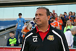 07 May 2016: Fort Lauderdale head coach Caio Zanardi (BRA). The Carolina RailHawks hosted the Fort Lauderdale Strikers at WakeMed Stadium in Cary, North Carolina in a 2016 North American Soccer League Spring Season game. The Strikers won the game 3-1.