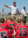 Palos Verdes, CA 03/26/16 - San Clementa Coach Chris Malone