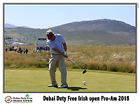 during the ProAm Day of the 2018 Dubai Duty Free Irish Open, Ballyliffin Golf Club, Ballyliffin, Co Donegal, Ireland.<br /> Picture: Golffile   Jenny Matthews<br /> <br /> <br /> All photo usage must carry mandatory copyright credit (&copy; Golffile   Jenny Matthews)