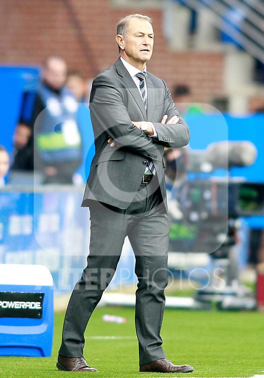 Deportivo Alaves' coach Gianni De Biasi during La Liga match. October 28,2017. (ALTERPHOTOS/Acero)