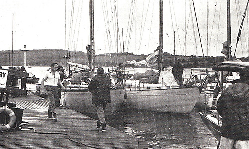 first partially tidal RCYC pontoon was in place for the Quarter Millennium in 1969-70
