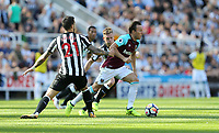 West Ham United's Mark Noble<br /> <br /> Photographer Rob Newell/CameraSport<br /> <br /> The Premier League - Newcastle United v West Ham United - Saturday 26th August 2017 - St James' Park - Newcastle<br /> <br /> World Copyright &copy; 2017 CameraSport. All rights reserved. 43 Linden Ave. Countesthorpe. Leicester. England. LE8 5PG - Tel: +44 (0) 116 277 4147 - admin@camerasport.com - www.camerasport.com