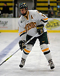 6 January 2007: University of Vermont defenseman Mark Lutz (17) from Stevens Point, WI, warms up for a game against the University of New Hampshire Wildcats at Gutterson Fieldhouse in Burlington, Vermont. The Wildcats defeated Vermont 2-1 to sweep the two-game weekend series in front of a record setting 49th consecutive sellout at the Gut...Mandatory Photo Credit: Ed Wolfstein Photo.<br />
