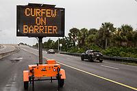 Flagler Beach during preparation for the arrival of Hurricane Irma, Saturday, Sept. 9, 2017. (Alex Menendez)