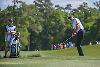 Matt Kuchar (USA) chips on to 2 during round 3 of the Houston Open, Golf Club of Houston, Houston, Texas. 3/31/2018.<br /> Picture: Golffile | Ken Murray<br /> <br /> <br /> All photo usage must carry mandatory copyright credit (&copy; Golffile | Ken Murray)