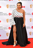 Scarlett Moffatt <br /> at Virgin Media British Academy Television Awards 2019 annual awards ceremony to celebrate the best of British TV, at Royal Festival Hall, London, England on May 12, 2019.<br /> CAP/JOR<br /> &copy;JOR/Capital Pictures
