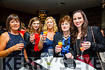Staff of the Bon Secour Hospital, Tralee enjoying their Christmas party on Friday night at Fels Point Hotel. Pictured l-r  Sheila Hughes, Clare Galvin, Susan Brown, Breda Flynn and Diane O'Grady