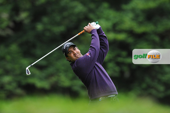 6/09/2012 European Tour 2012, KLM Open, Hilversumsche Golf, Hilversum, The Netherlands. 06-09 Sep. Shiv  Kapur of India during the first round. .Picture: golfsupport/golffile.ie.