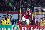 Guangzhou Forward Ricardo Goulart celebrating his score during the AFC Champions League 2017 Group G match between Guangzhou Evergrande FC (CHN) vs Suwon Samsung Bluewings (KOR) at the Tianhe Stadium on 09 May 2017 in Guangzhou, China. Photo by Yu Chun Christopher Wong / Power Sport Images