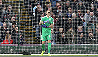 Burnley's Joe Hart reacts after Everton's Yerry Mina scored the opening goal<br /> <br /> Photographer Rich Linley/CameraSport<br /> <br /> The Premier League - Burnley v Everton - Wednesday 26th December 2018 - Turf Moor - Burnley<br /> <br /> World Copyright &copy; 2018 CameraSport. All rights reserved. 43 Linden Ave. Countesthorpe. Leicester. England. LE8 5PG - Tel: +44 (0) 116 277 4147 - admin@camerasport.com - www.camerasport.com